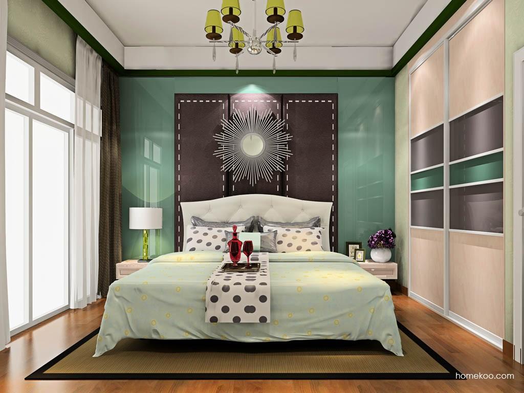 北欧阳光卧房家具A19206