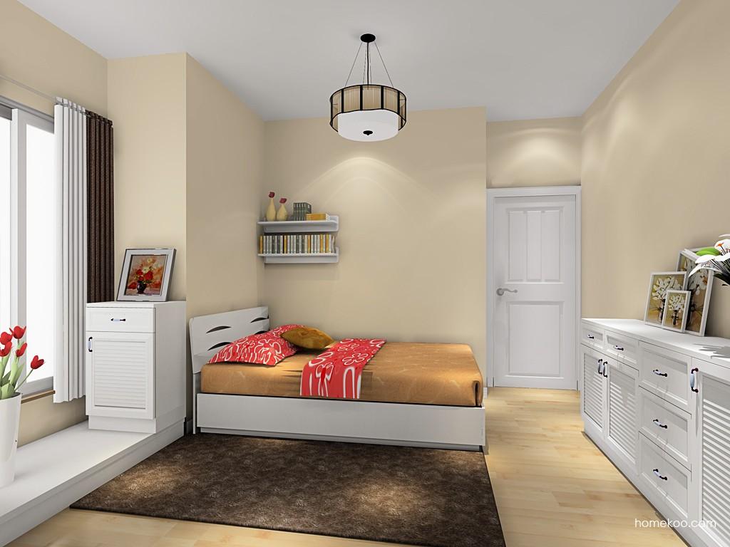 韩式田园卧房家具A19207