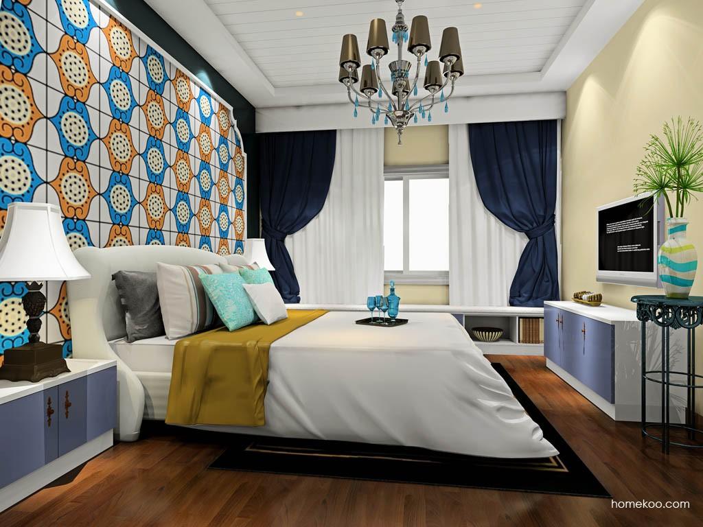 新实用主义卧房家具A19208