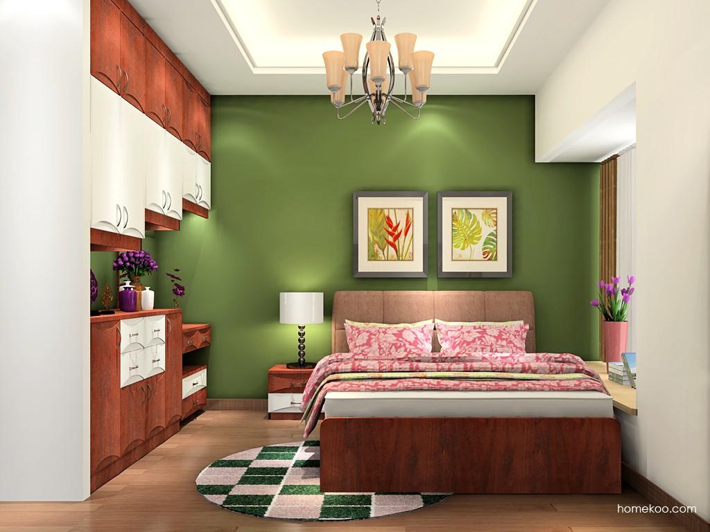 挪威月色卧房家具A19210