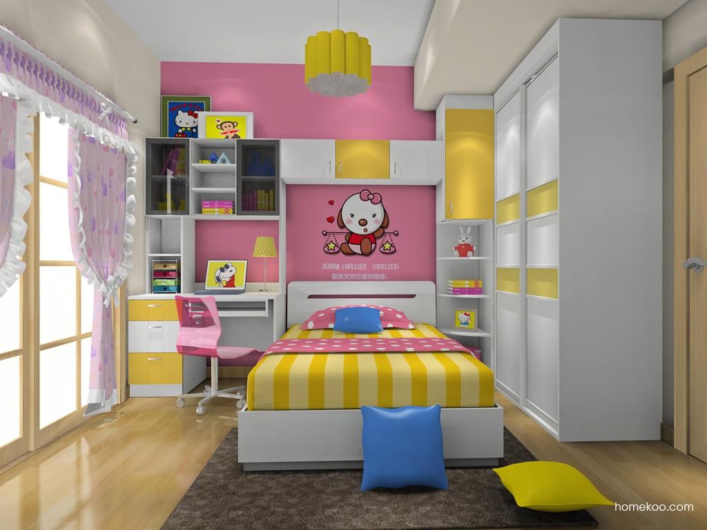 女孩的梦青少年房B19186