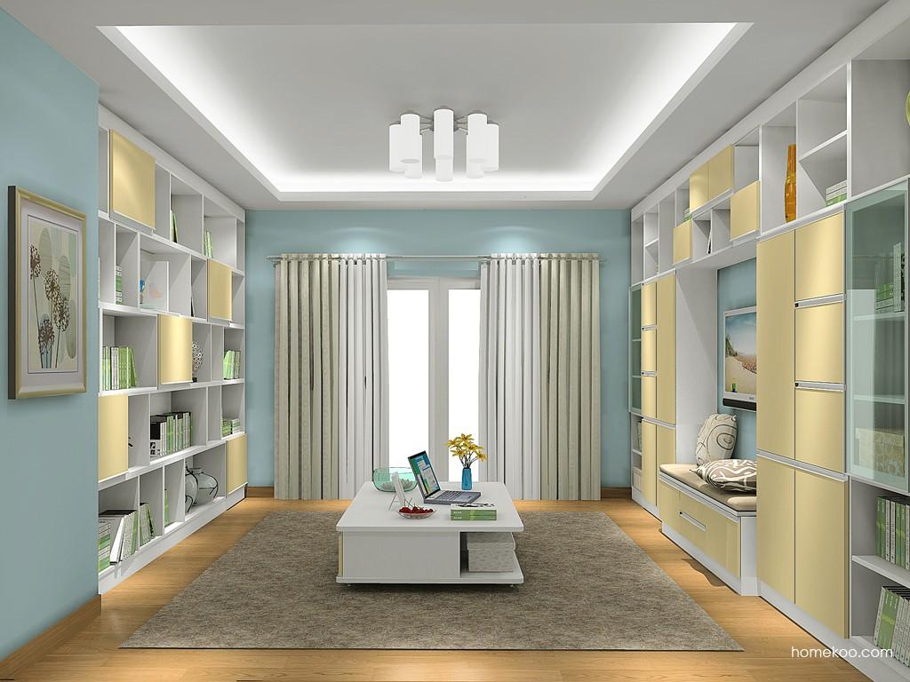 新实用主义书房家具C19243