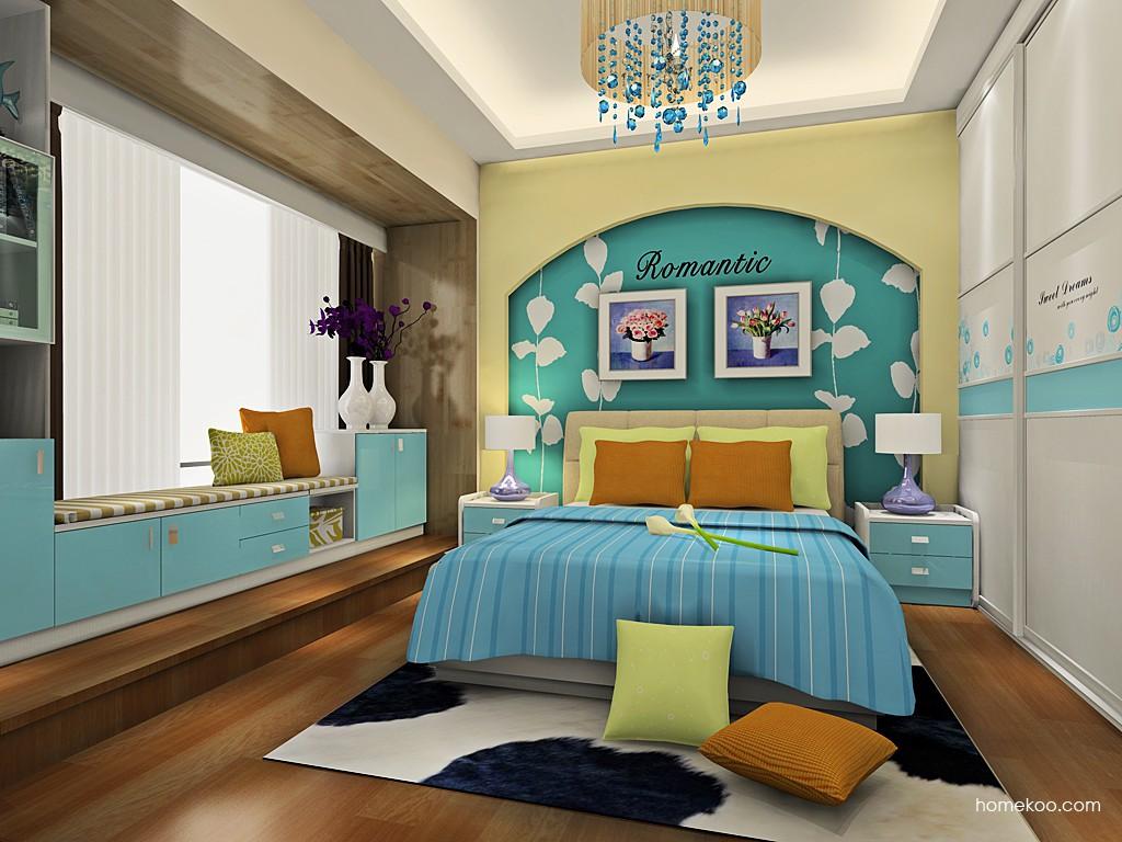 浪漫主义卧房家具A19242