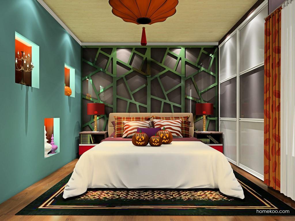 新实用主义卧房家具A19249