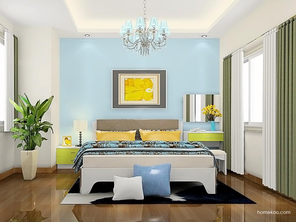 新实用主义卧房家具A19250