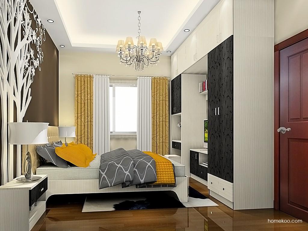 米兰剪影卧房家具A19251