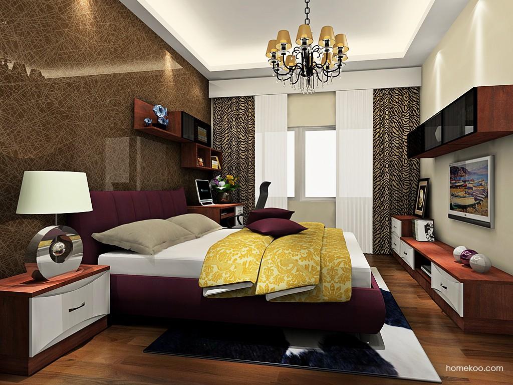 挪威月色卧房家具A19252