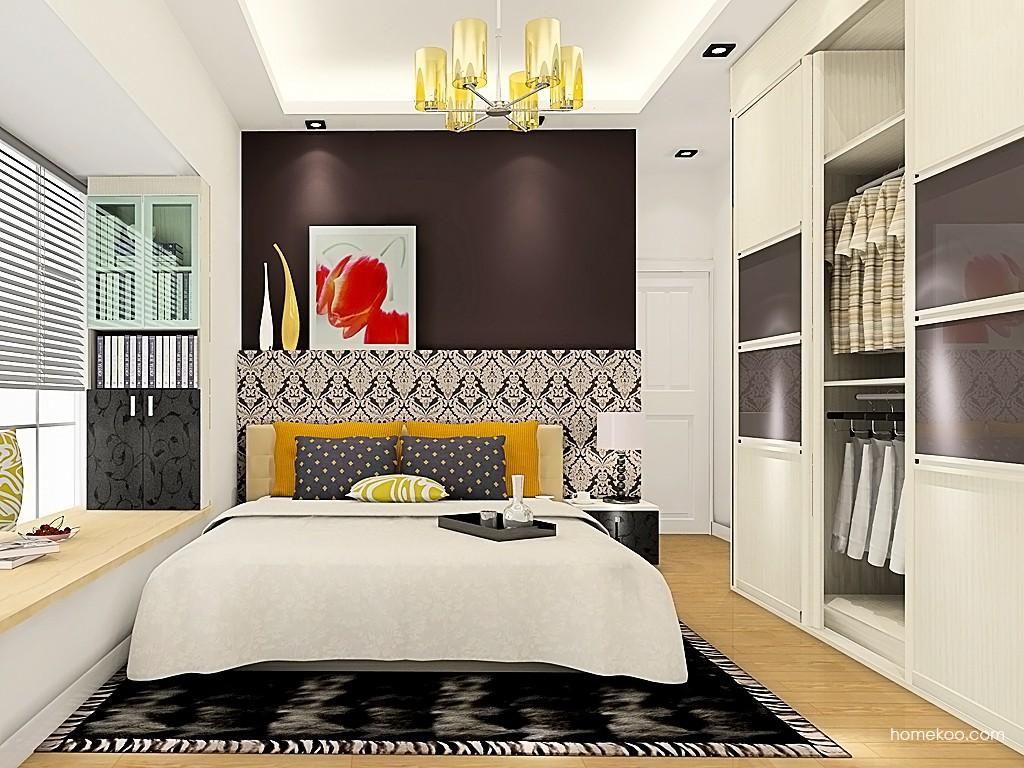 米兰剪影卧房家具A19255