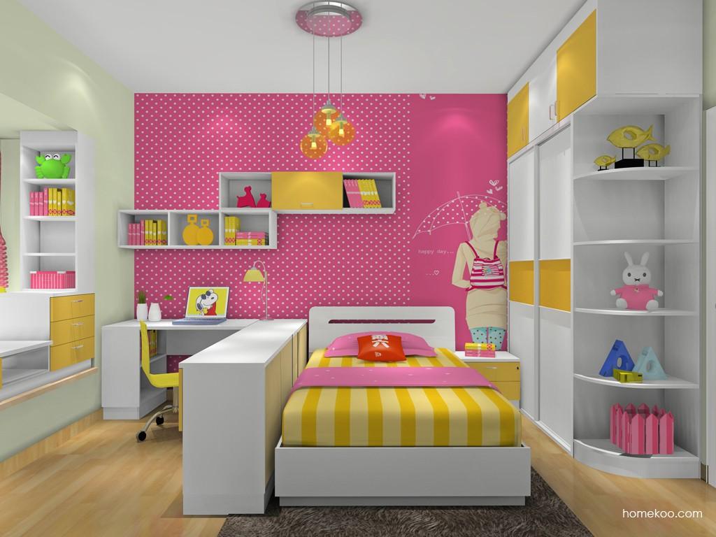 女孩的梦青少年房B19199