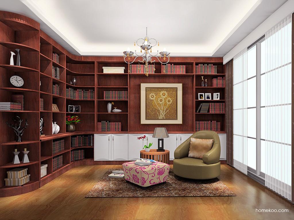 挪威月色书房家具C19275