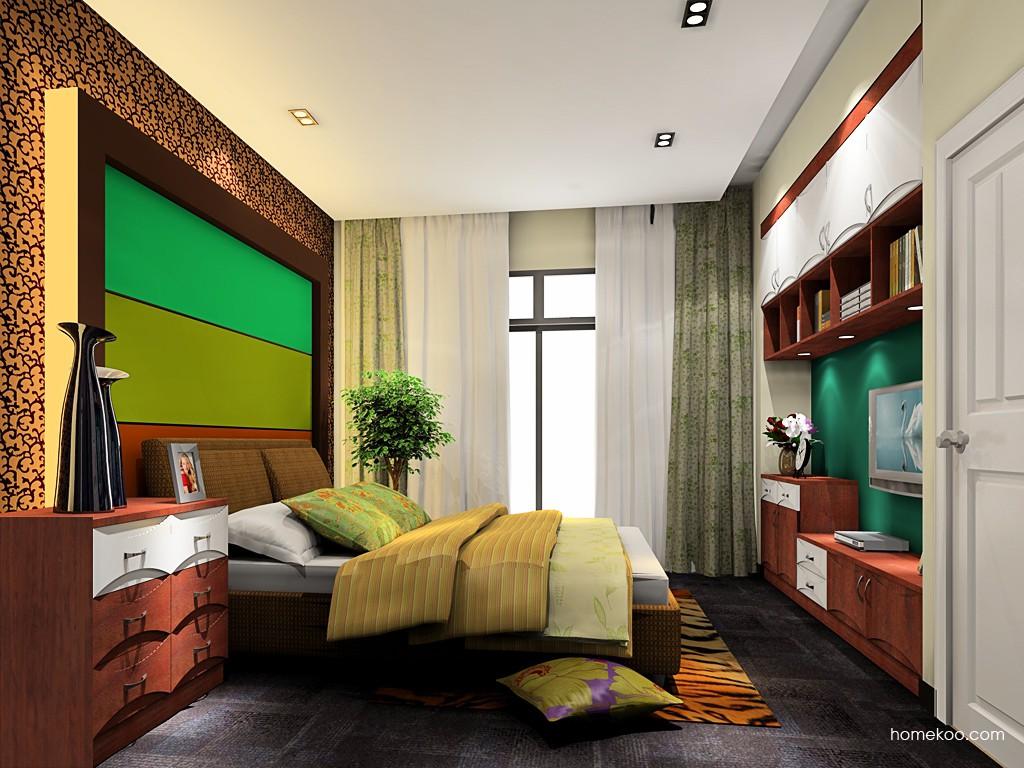 挪威月色卧房家具A19266