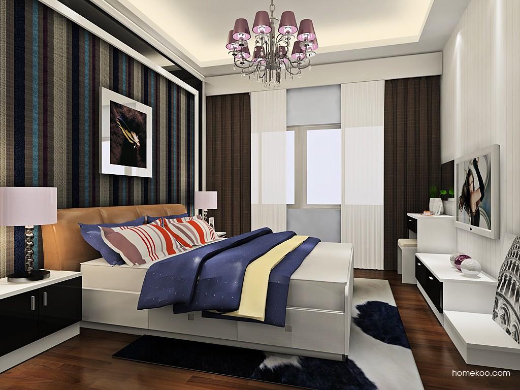 简约主义卧房家具A19267