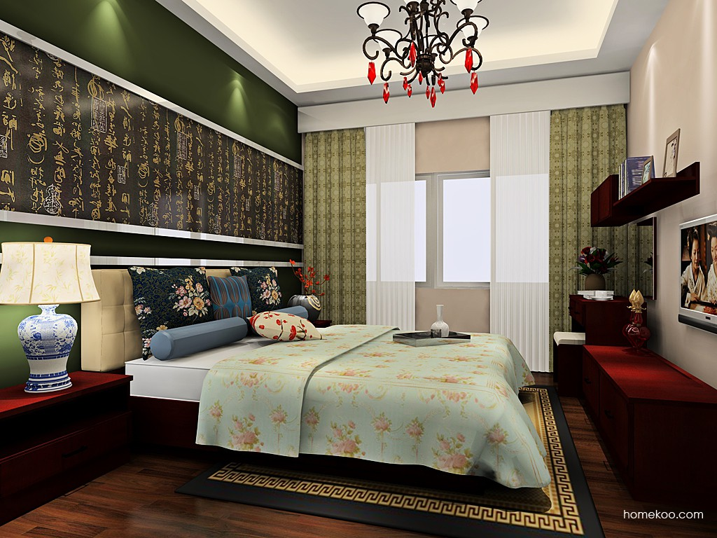 中国韵卧房家具A19274