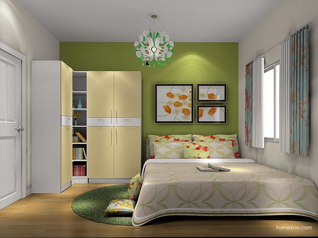 浪漫主义卧房家具A19286