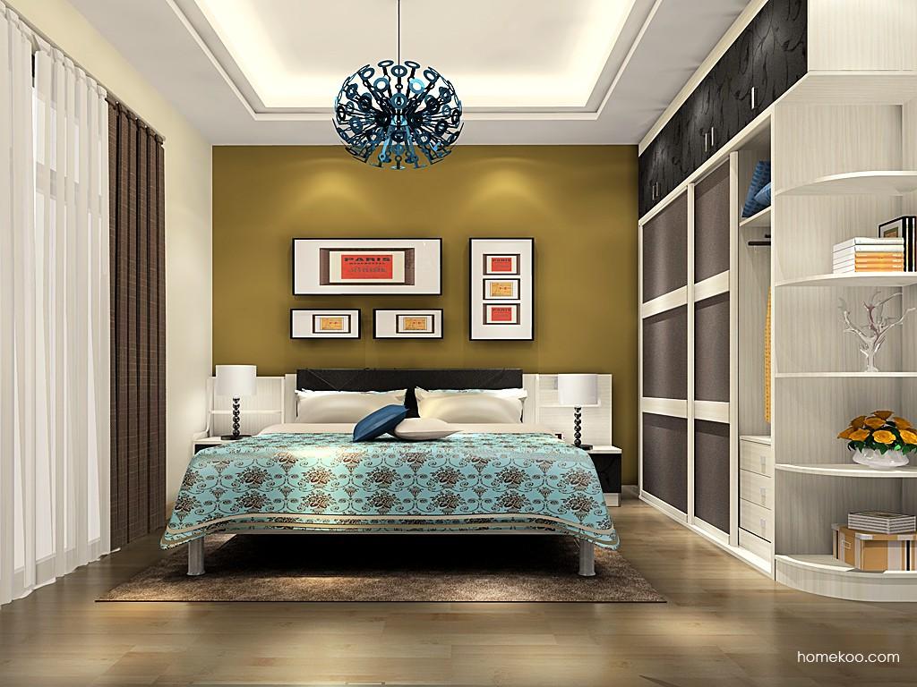 米兰剪影卧房家具A19287