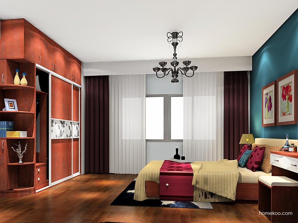 挪威月色卧房家具A19288