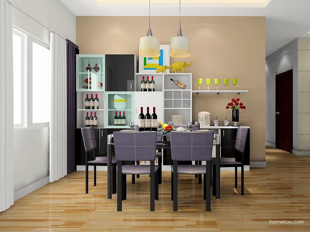 简约主义餐厅家具E17614