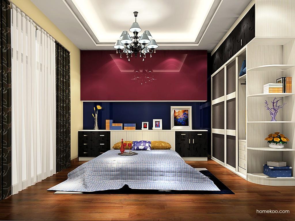 米兰剪影卧房家具A19297