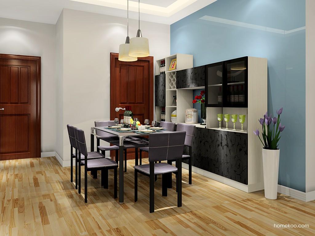 米兰剪影餐厅家具E17618