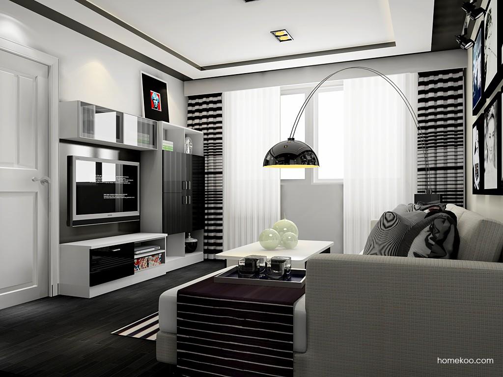 简约主义客厅家具D17618