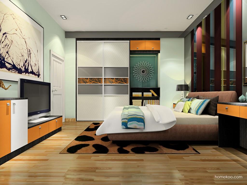 新实用主义卧房家具A19304