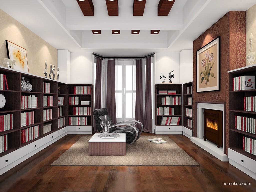 新实用主义书房家具C19316
