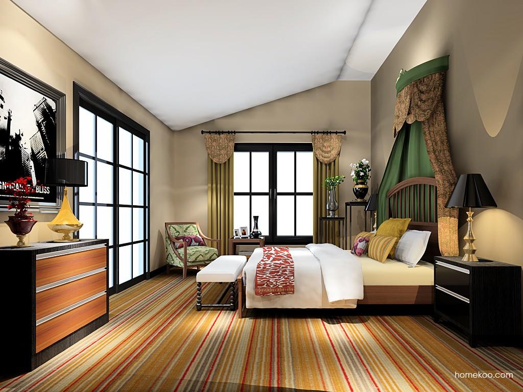 新实用主义卧房家具A19306