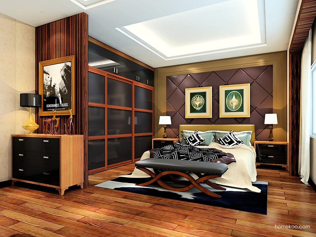 新实用主义卧房家具A19307