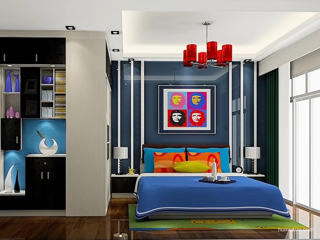 米兰剪影卧房家具A19309
