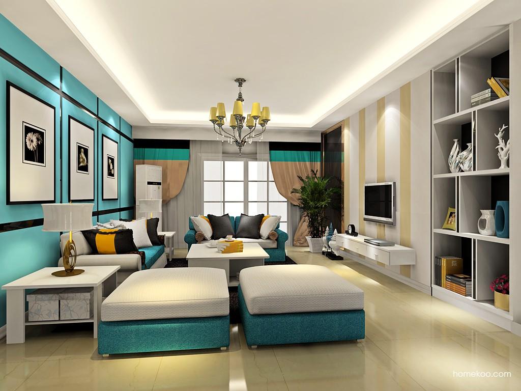 新实用主义客厅家具D17623
