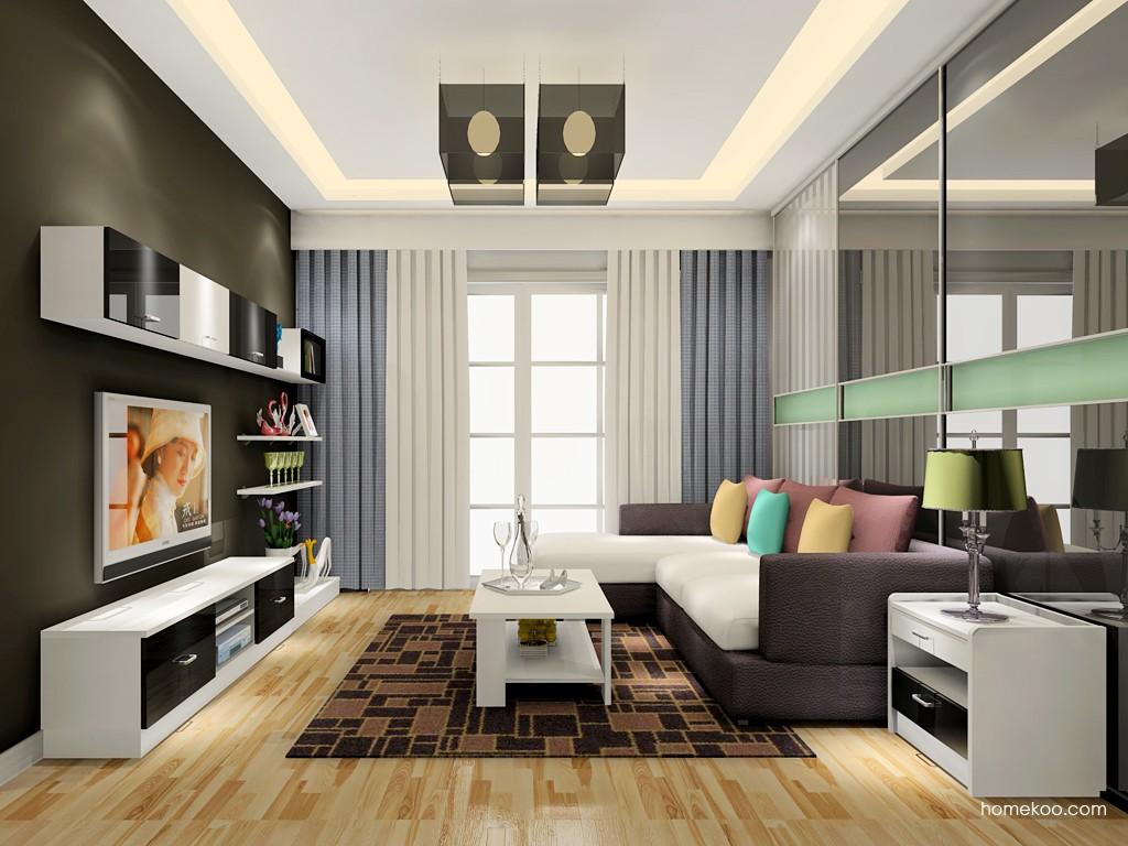 简约主义客厅家具D17622
