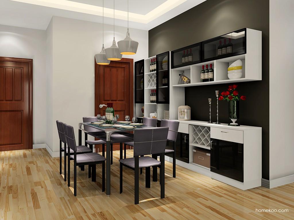 简约主义餐厅家具E17637