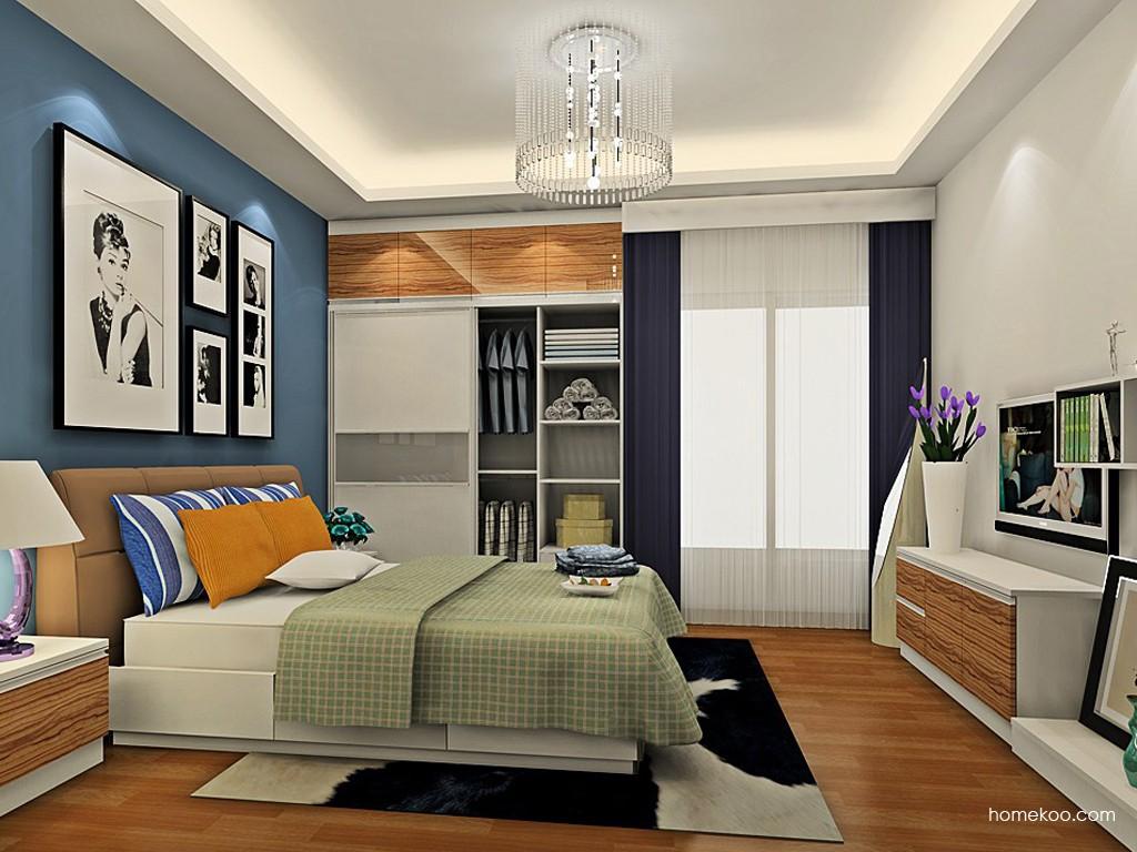 新实用主义卧房家具A19315