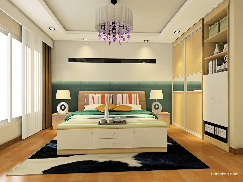 北美枫情卧房家具A19341