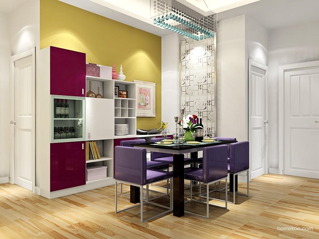 浪漫主义餐厅家具E17640