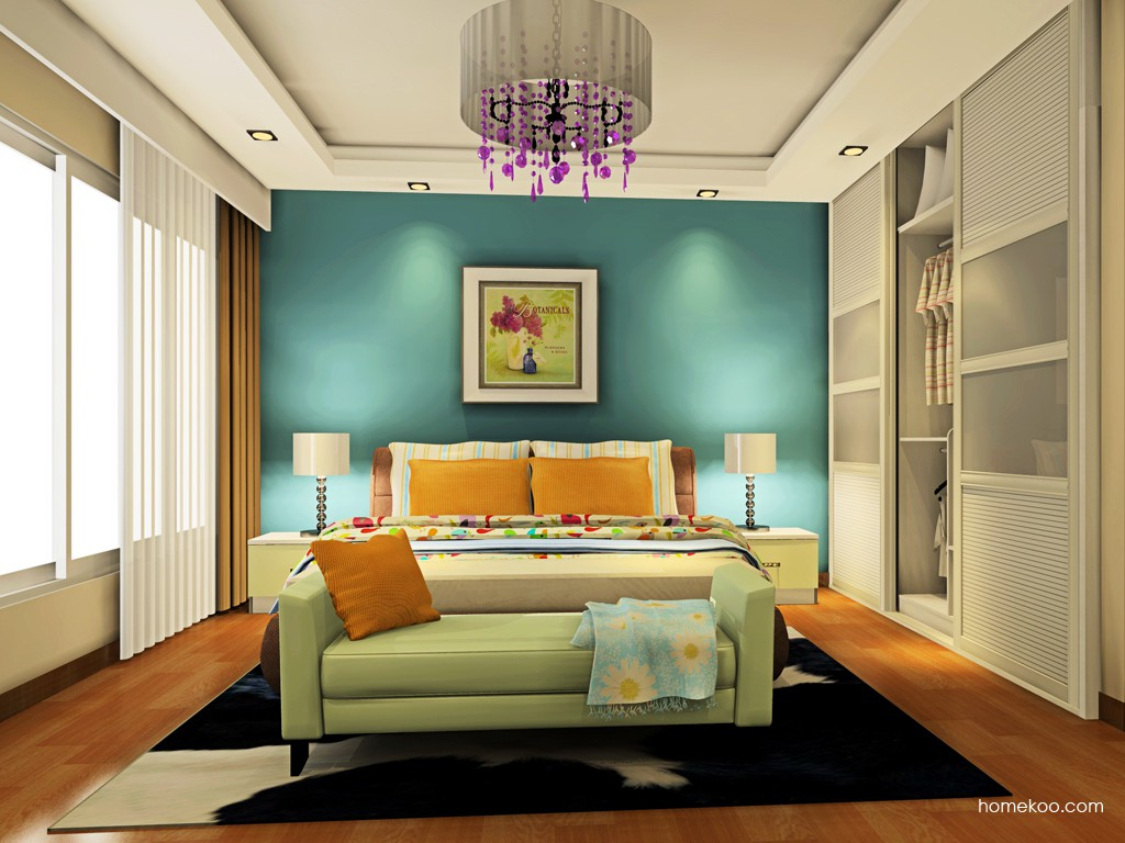 里昂春天卧房家具A19351