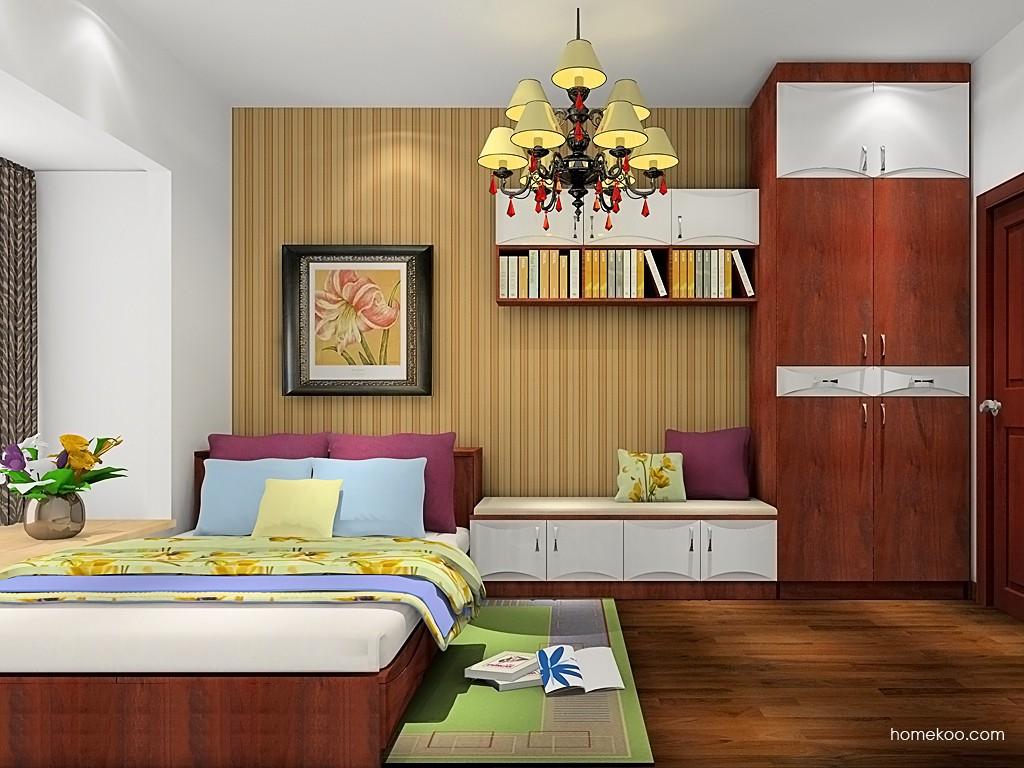 挪威月色卧房家具A19381