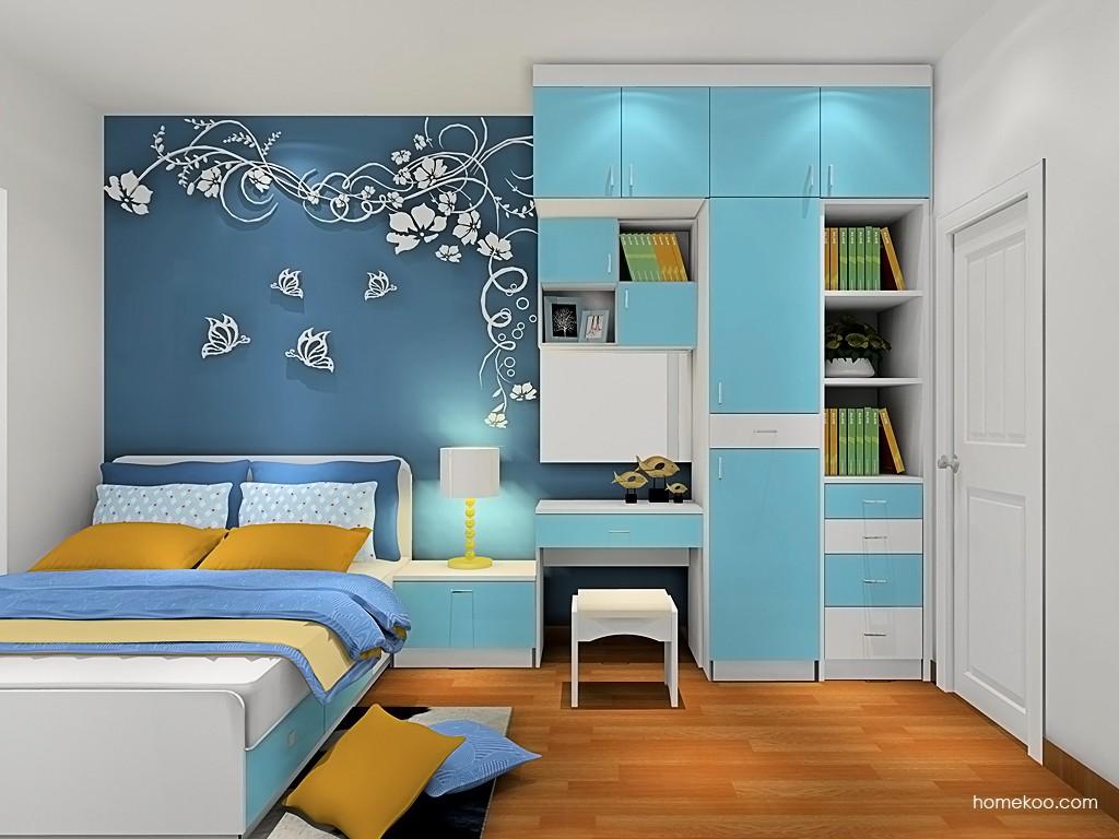 新实用主义卧房家具A19399