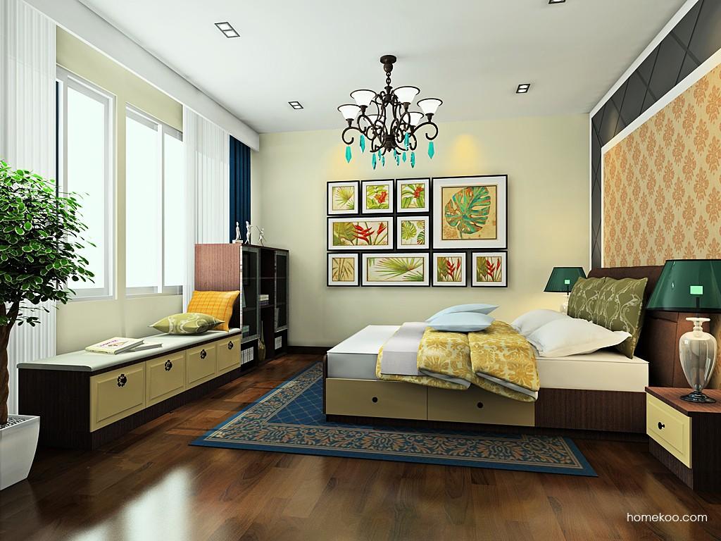 卡罗摩卡卧房家具A19416