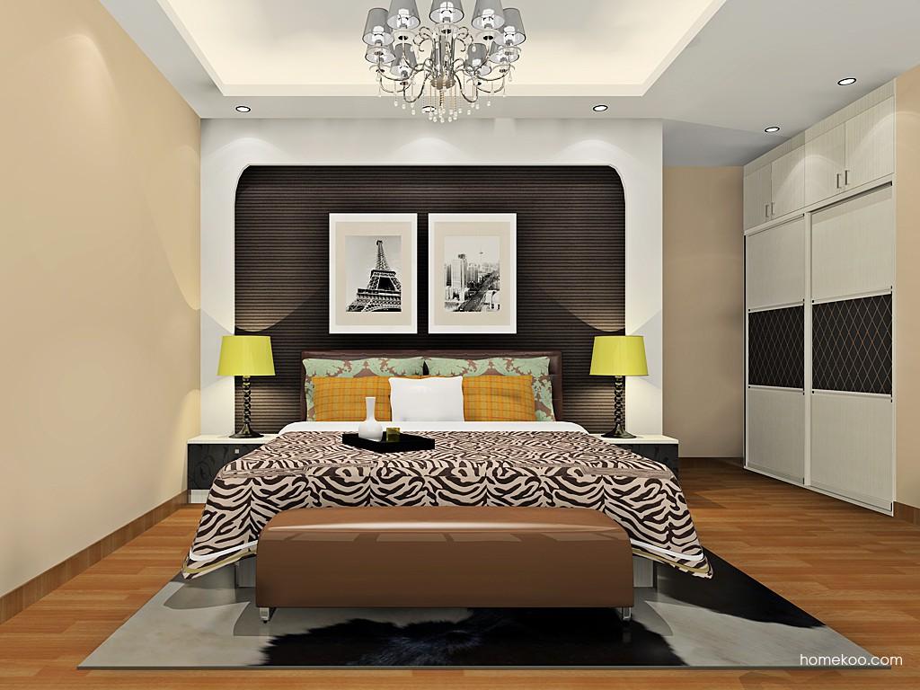 米兰剪影卧房家具A19423
