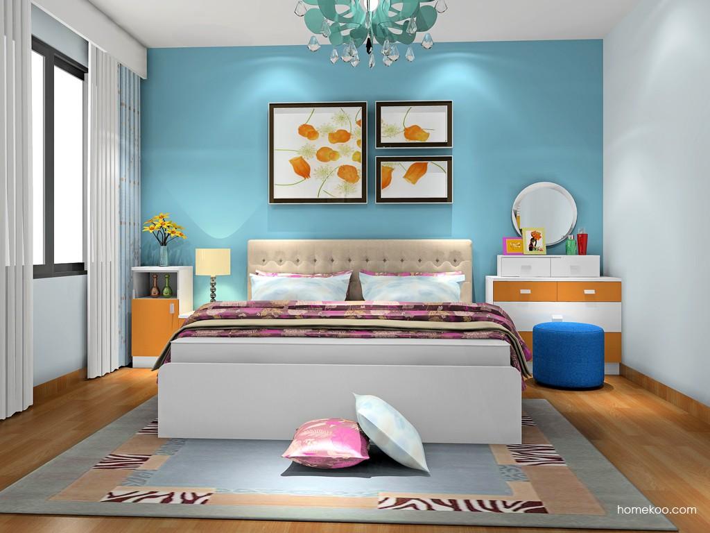 新实用主义卧房家具A19425