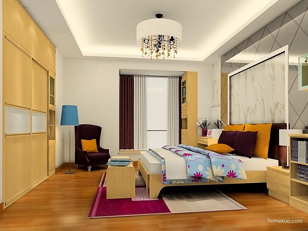 北美枫情卧房家具A19429