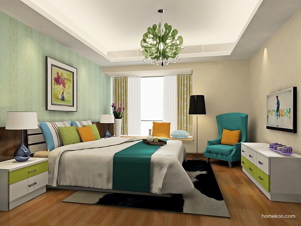 里昂春天卧房家具A19436