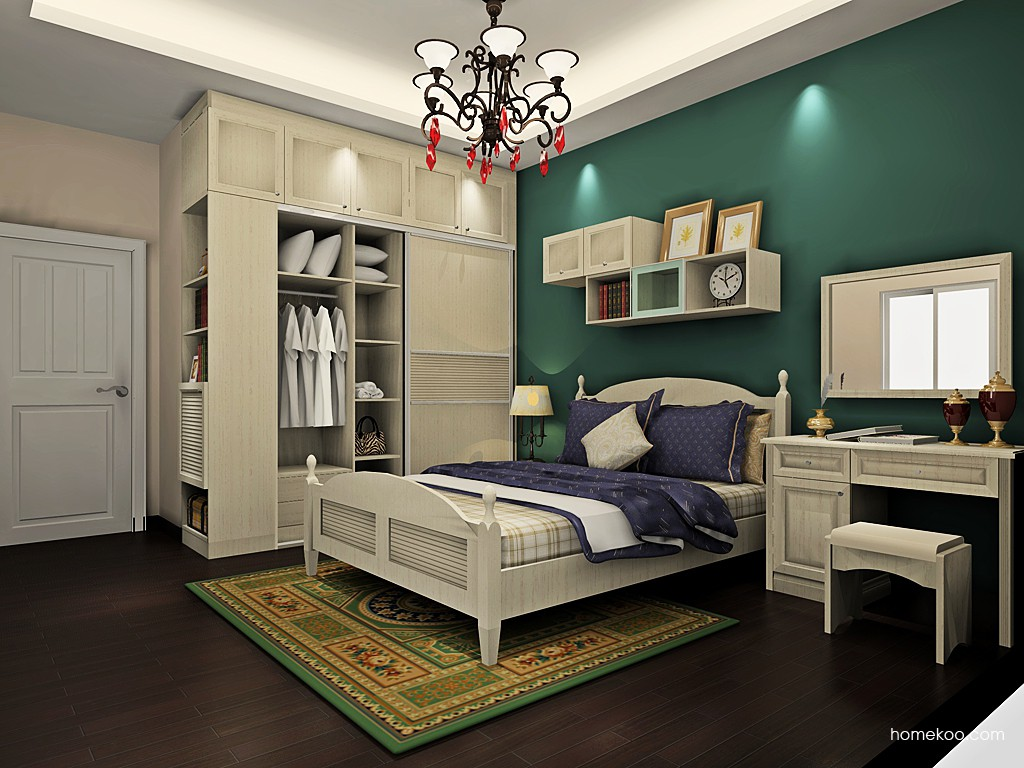 英伦印象卧房家具A19439
