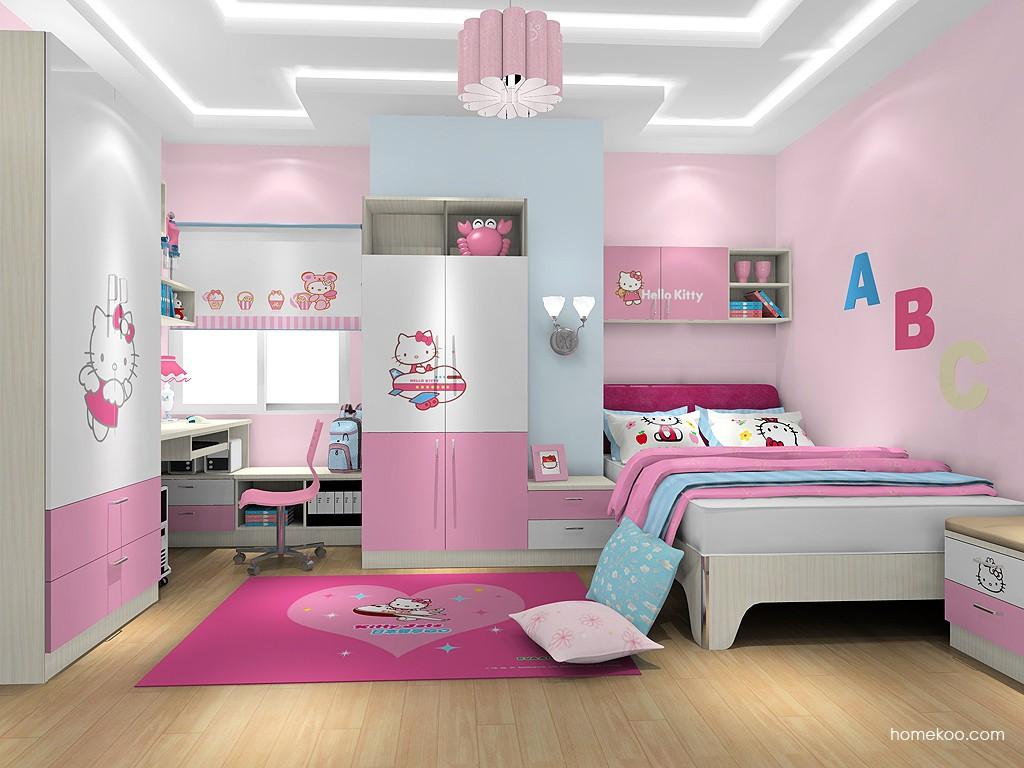 女孩的梦青少年房B19337