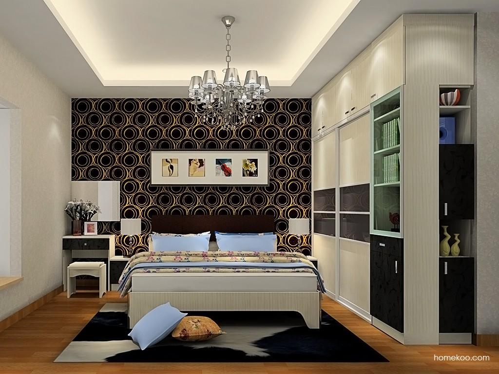 米兰剪影卧房家具A19442
