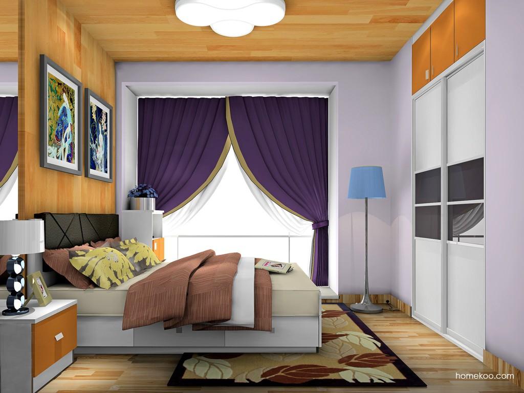 新实用主义卧房家具A19446