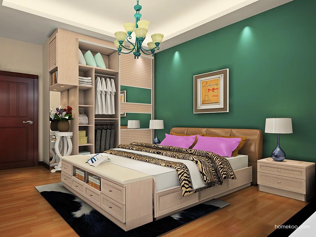 北欧阳光卧房家具A19447