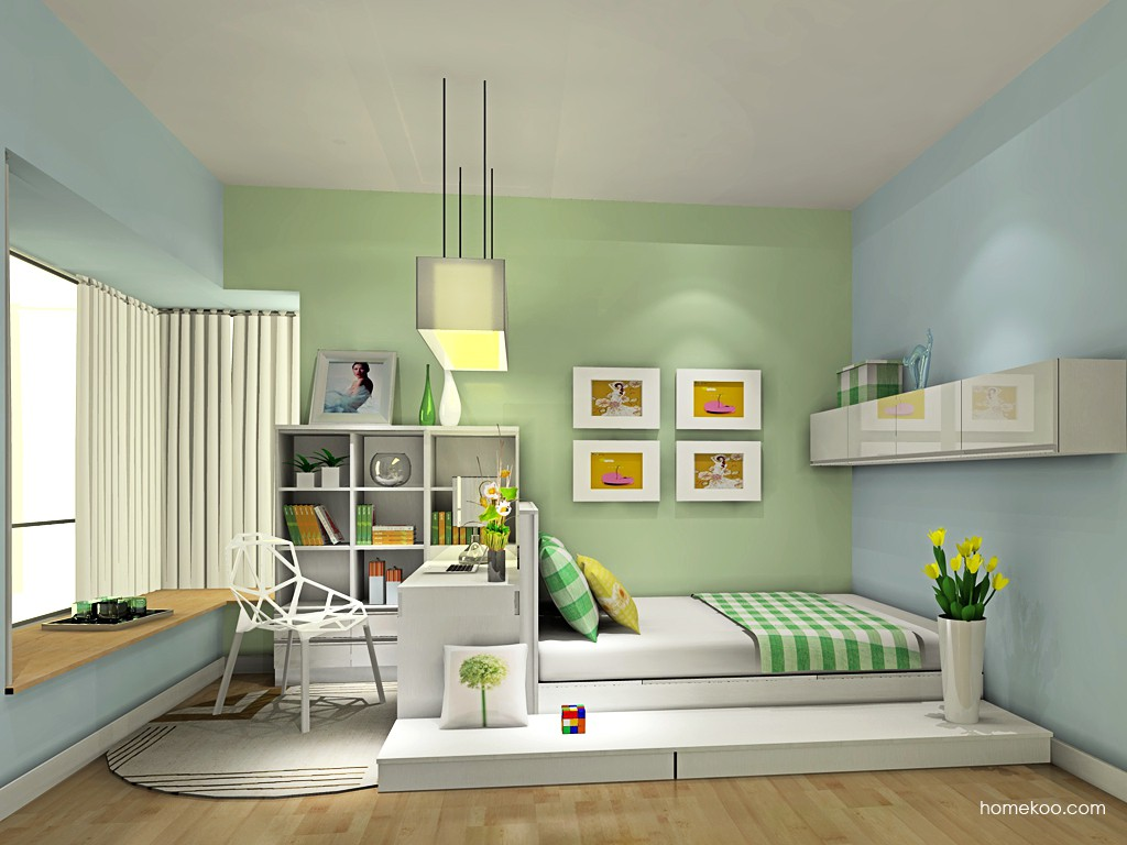新实用主义卧房家具A19452