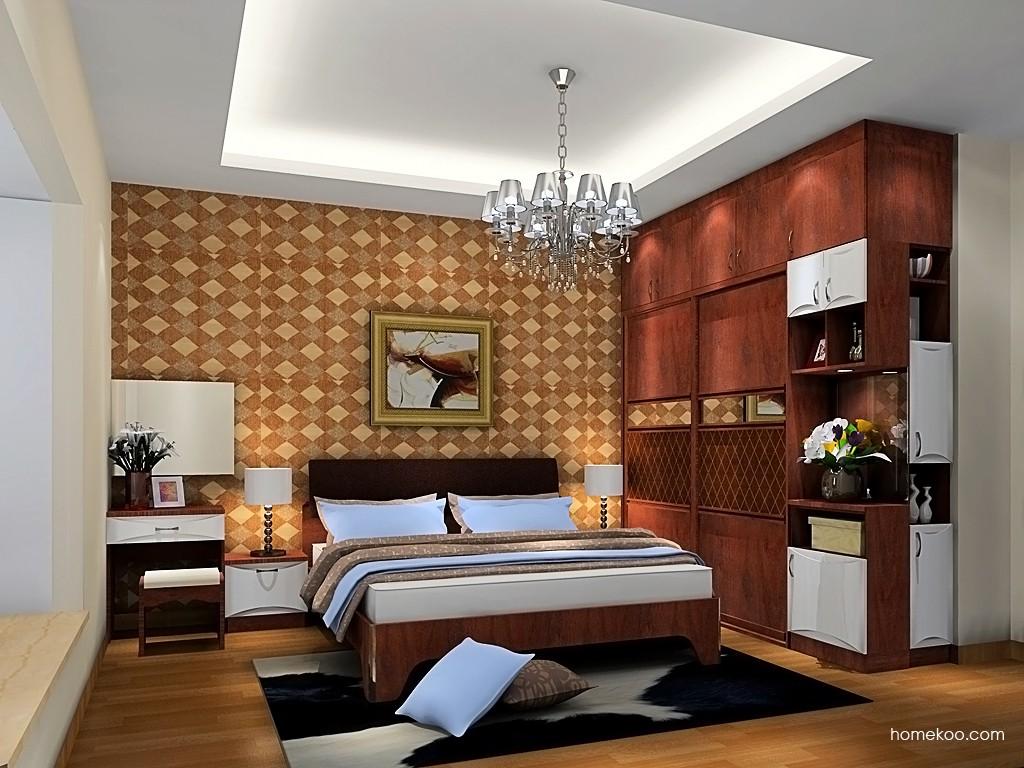挪威月色卧房家具A19460
